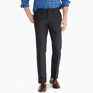 Men's J. Crew Slim Bedford Pant in Black